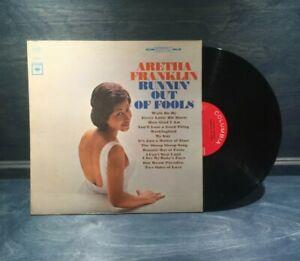 ARETHA FRANKLIN: Runnin' Out of Fools US Columbia Orig Press LP NM Vinyl Soul