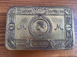WW1 Original Princess Mary gift/Christmas Tin 1914