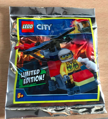 Lego figure polybag limited seals minifigurine city the rescue helicopter