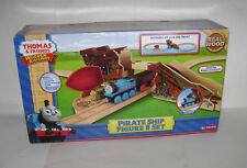 Fisher Thomas Friends Wooden Railway Pirate Ship Figure 8 Set Toy