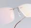 Flexible-Rimless-Titanium-Alloy-Eyeglasses-Women-Men-Glasses-Frame-Optic-Eyewear miniature 5