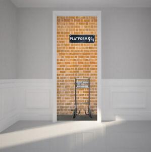 3D-Self-Adhesive-Platform-9-3-4-Wall-Art-Sticker-Decal-Door-Wrap-Mural-Home
