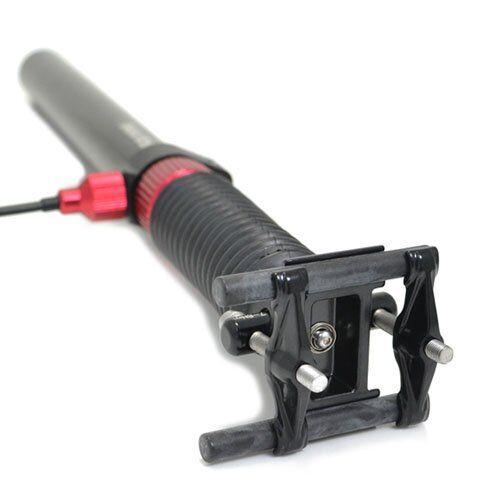 Black 27.2 x 400mm TMARS 419L Mechanical Drop Seatpost