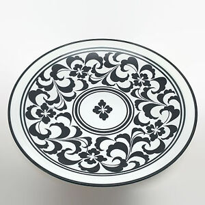 Dansk-Black-amp-White-Serving-Platter-Plate-12-034