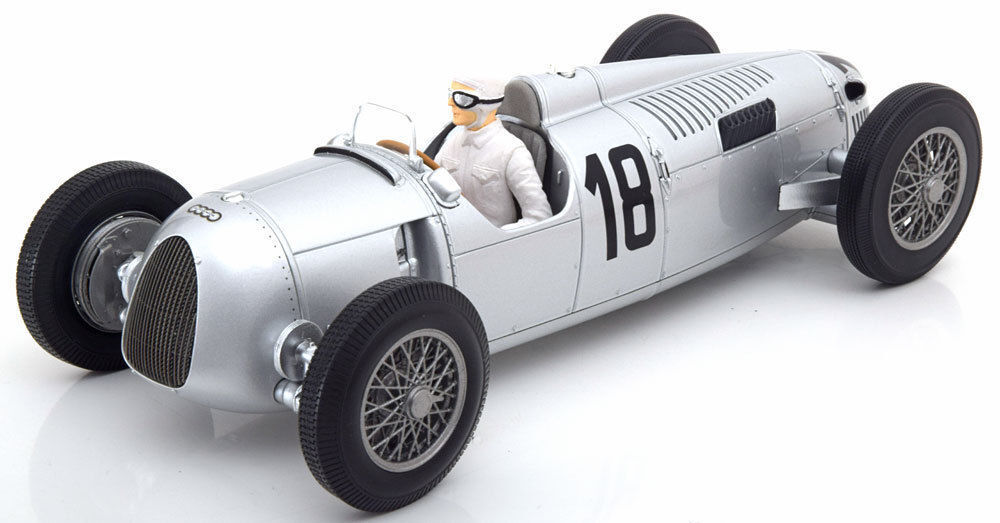 Minichamps 1936 Auto Union Type C 57 Winner Internationles Eifelrenne 1:18 *NEW