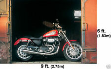 Giant HARLEY DAVIDSON Motorcycles Wall Mural Sportster Box Car Wallpaper 6'x9'