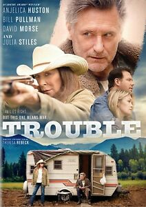 Details About Trouble Dvd 2019 Anjelica Huston Bill Pullman David Morse Julia Stiles