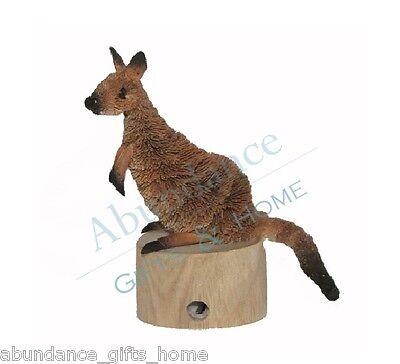 Kangaroo Aussie Wooden Based Australian Pencil Sharpener