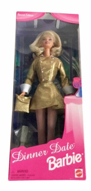 Special Edition Dinner Date Barbie Blonde Hair Mattel