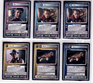 Star Trek CCG Holodeck Adventures 56*C Harath NrMint-MINT