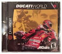 Ducati World Racing Challenge (dreamcast, 2001) Brand Sealed - Nice