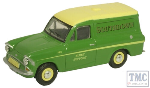 76ANG032 Oxford Diecast OO Gauge Ford Anglia Van Southdown