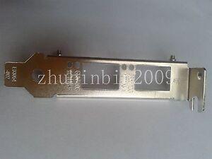 Low Profile Bracket for Intel X710-DA2   X710DA2  Y5M7N 00JY942  05N7Y5  81Y3522