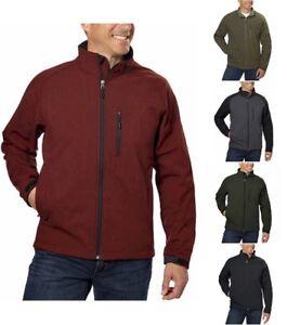 Kirkland-Signature-Mens-Softshell-Jacket-Choose-Size-amp-Color-A