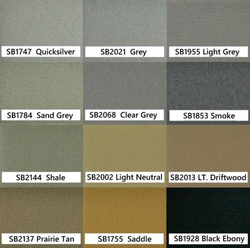 Visors 00-05 Buick LeSabre Headliner Fabric Repair Foam Backed Sunshade