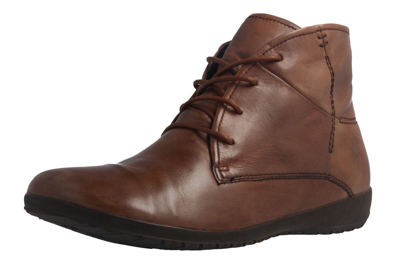 Josef Seibel zapatos botas en talla extragrande grandes zapatos Seibel señora marrón XXL 384305