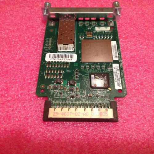 Cisco HWIC-1GE-SFP 1-Port High Speed Wan Interface Card FAST SHIPPING