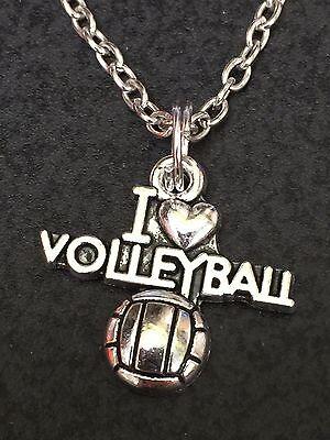 "I Love Basketball Charm Tibetan Silver 18/"" Necklace Mix C"