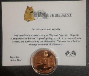 Moneta-commemorativa-Dogecoin-Nascar-n-98-con-certificato-di-autenticita-1098