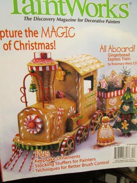 PaintWorks Magazine December 2007-Minstrel Cat/Gnome & Fox/US Patriotic/Trumpet/
