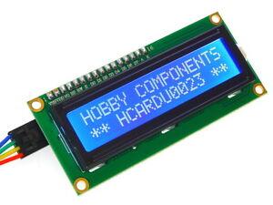 Arduino-Compatible-Iic-i2c-twi-ywrobot-Serial-Lcd-1602-16x2-modulo