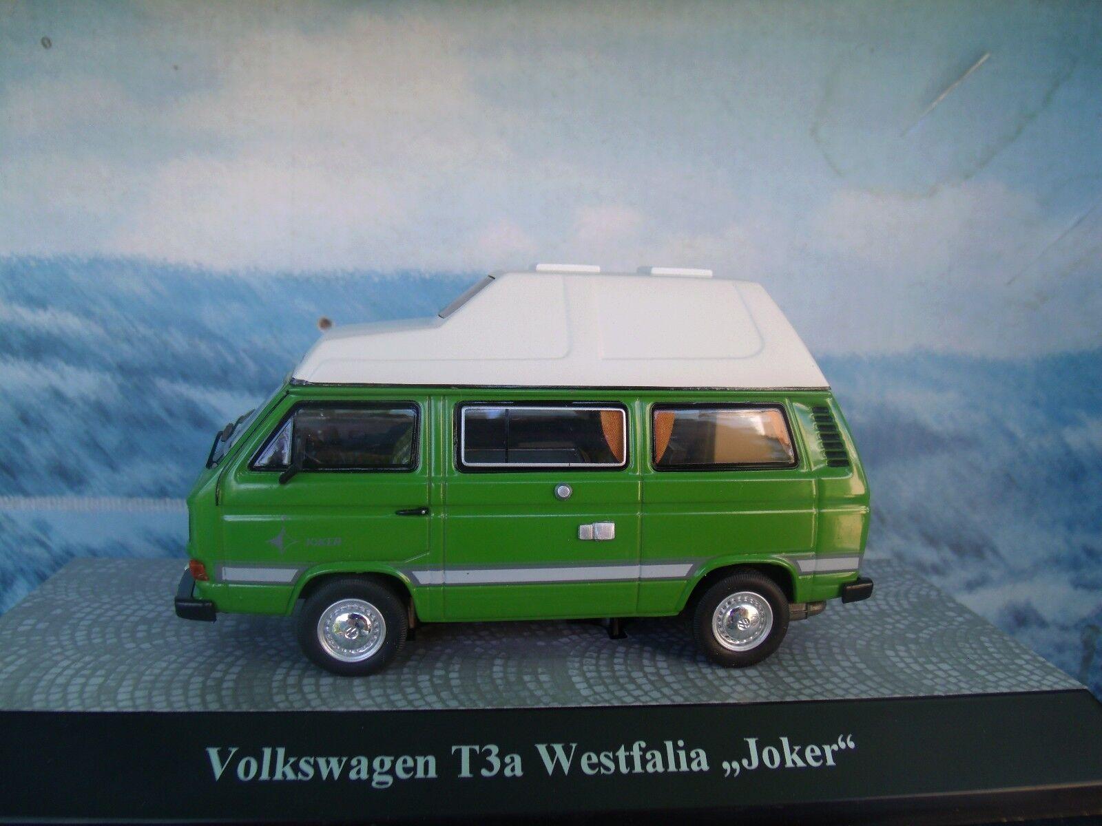 Senza tasse 1 43 PREMIUM classeIXXs (Geruomoy)  VW T3  Westfalia Westfalia Westfalia  Joker   limited 1 of 1000  gli ultimi modelli