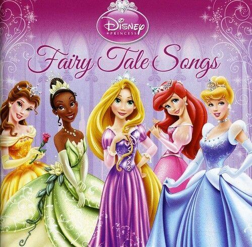 1 of 1 - Disney - Disney Princess: Fairy Tale Songs [New CD]
