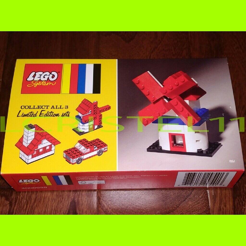 NEW - Lego 60th Anniversary Classic Windmill - LIMITED EDITION - RARE - 4000029
