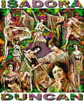 isadora Duncan Tribute T-shirt Or Print By Ed Seeman