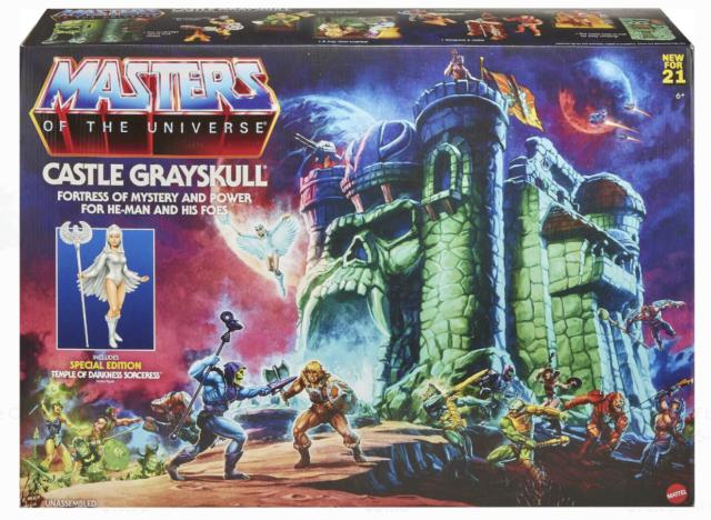 Masters of the Universe MOTU Origins CASTLE GRAYSKULL Playset 2021 NEW In-Hand