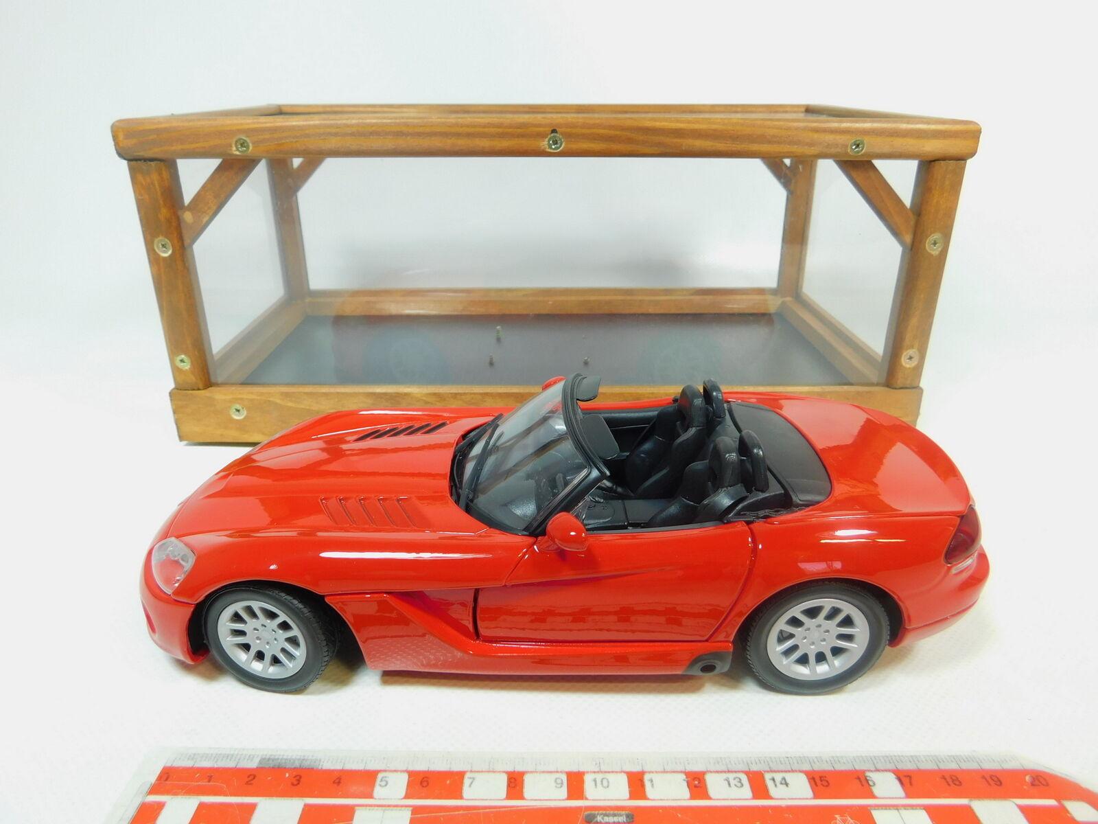 BP486-3   Motormax 1 18 73137 Metall-Pkw Dodge Viper Srt 10 2003, Très Bien