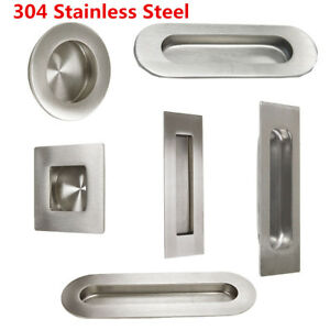 Image Is Loading Kitchen Cabinet Recessed Sliding Door Handles Finger Pulls