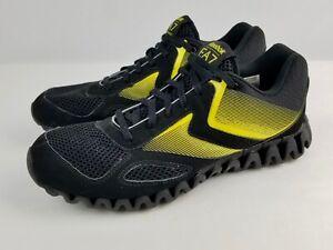 wyprzedaż ze zniżką nowy autentyczny zasznurować Details about Reebok EA7 Emporio Armani Sneakers Running Shoes Women's 9  Black w/ Neon Yellow