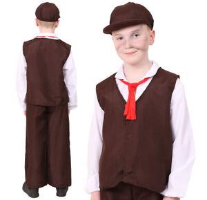 CHILDS POOR TUDOR COSTUMES SCHOOL BOOK DAY KIDS HISTORICAL VICTORIAN FANCY DRESS