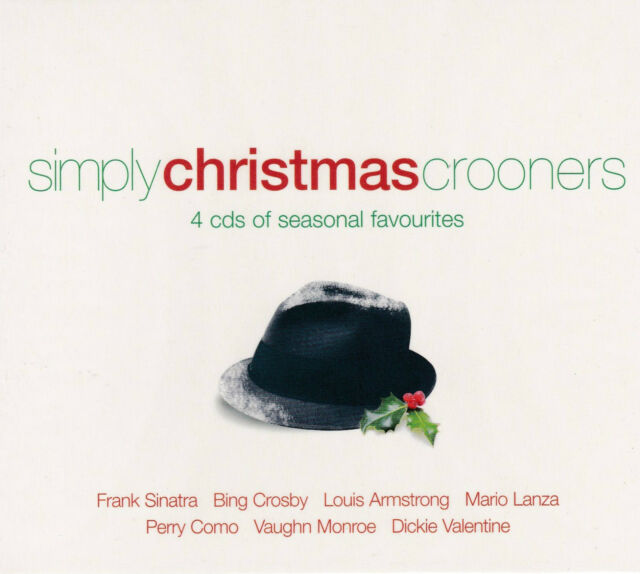 [BRAND NEW] 4CD: SIMPLY CHRISTMAS CROONERS