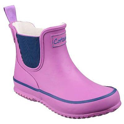 Cotswold Bushy Waterproof Kids Boys Girls Wellington Boot Rubber Wellies UK7.5-3