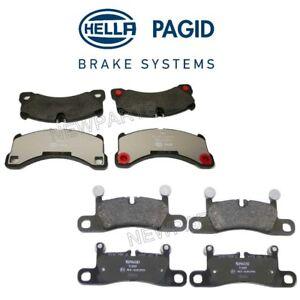 Disc Brake Caliper Hardware Kit-Hella Pagid is an OEM Supplier Front Hella-PAGID