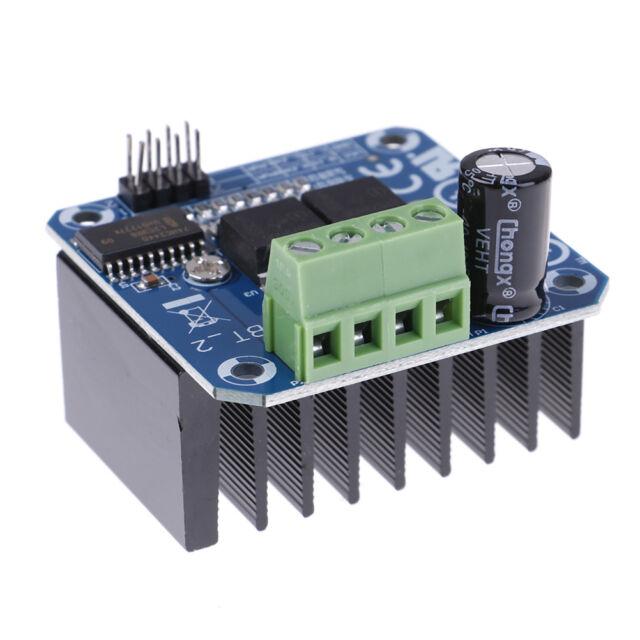 2 Schrittmotortreiber Doppel-BTS7960B H-Brücke PWM Für Arduino Smart Car