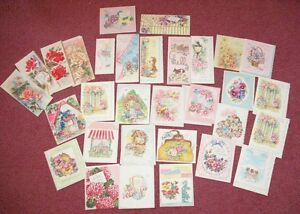 Vintage-UNUSED-Lot-of-30-Get-Well-Feel-Better-Cards-BIG-VARIETY-FuN-LoT