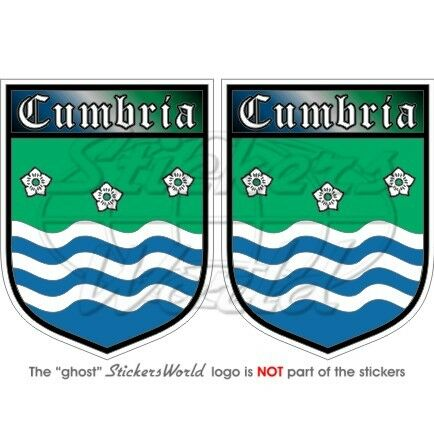 CUMBRIA County Schild ENGLAND UK Vinyl Sticker Aufkleber 75mm x2