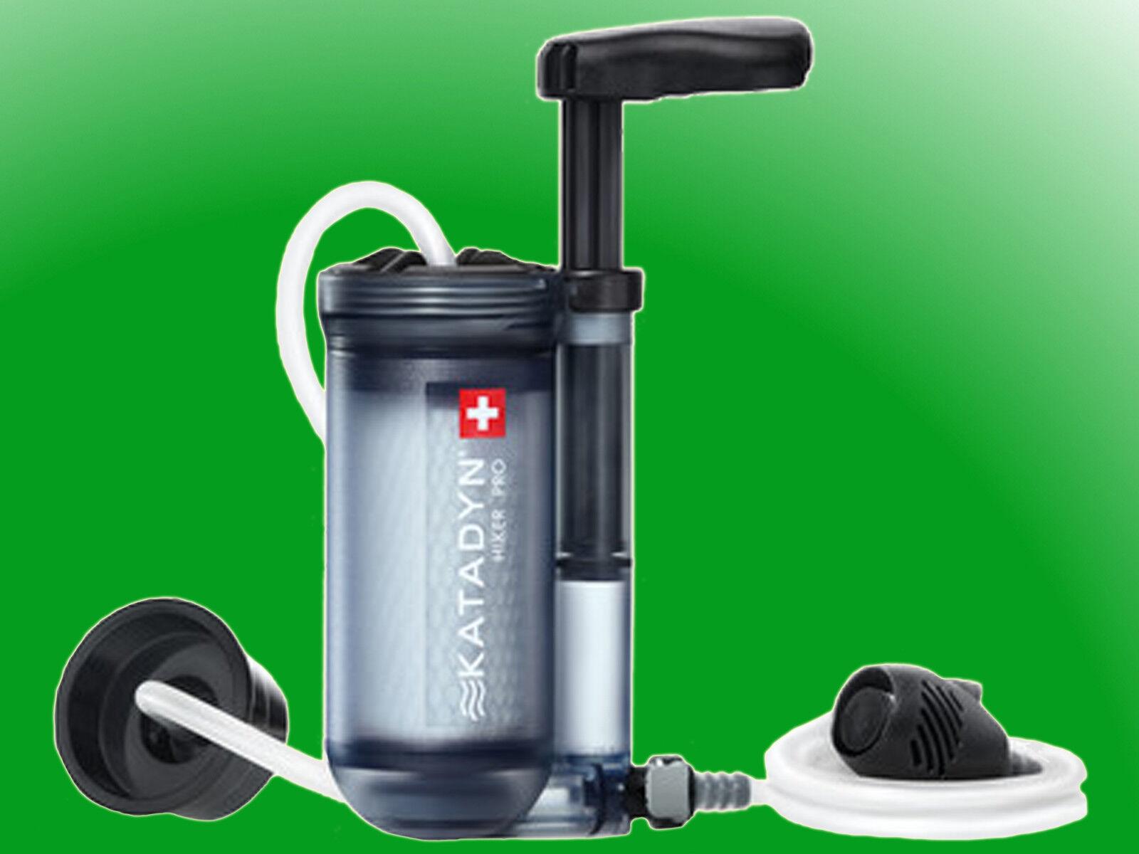 Katadyn Hiker pro filtro  de agua transparente, Agua purifier, agua potable-Filter  online barato