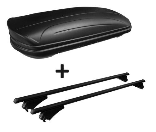 Coffre de toit maa320l mat Alu-RAMBARDE porteur Quick édition Pour audi a6 4 G Avant ab11 Rel