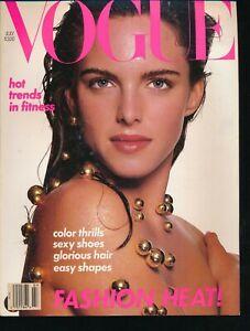 VOGUE-July-1988-Fashion-Magazine-SUSAN-MINER-Cover-by-RICHARD-AVEDON-Very-Fine