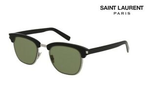 e7b610103c2b77 SAINT LAURENT Sunglasses SL108 SLIM (003) Black RRP-£310   eBay