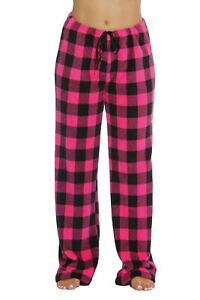 Buffalo-Plaid-Plush-Fleece-Pajama-Pant