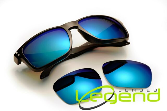 9ed3f07ceb4 A71 Ice Blue Polarized Replacement Legend Lenses for Oakley Holbrook ...