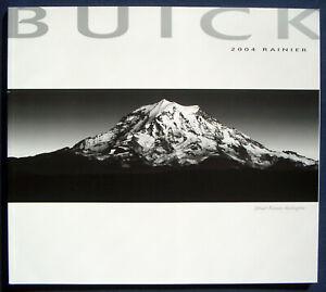 Copieux Prospectus Brochure 2004 Buick Rainier (usa)-afficher Le Titre D'origine
