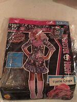 Halloween Costume Girls Monster High Viperine Gorgon Small 4-6