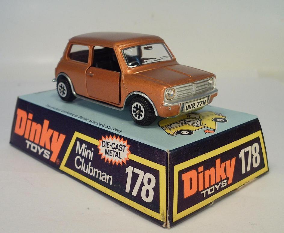 Dinky Toys 178 Mini Clubman bronze OVP
