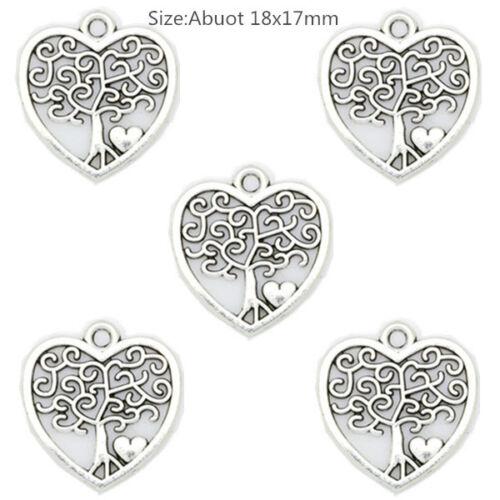 Neue 69 Arten Antik Silber Schöne Handwerk Schmuck Machen Charm Anhänger